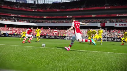 Gameplay Features - Agility and Control de FIFA 15