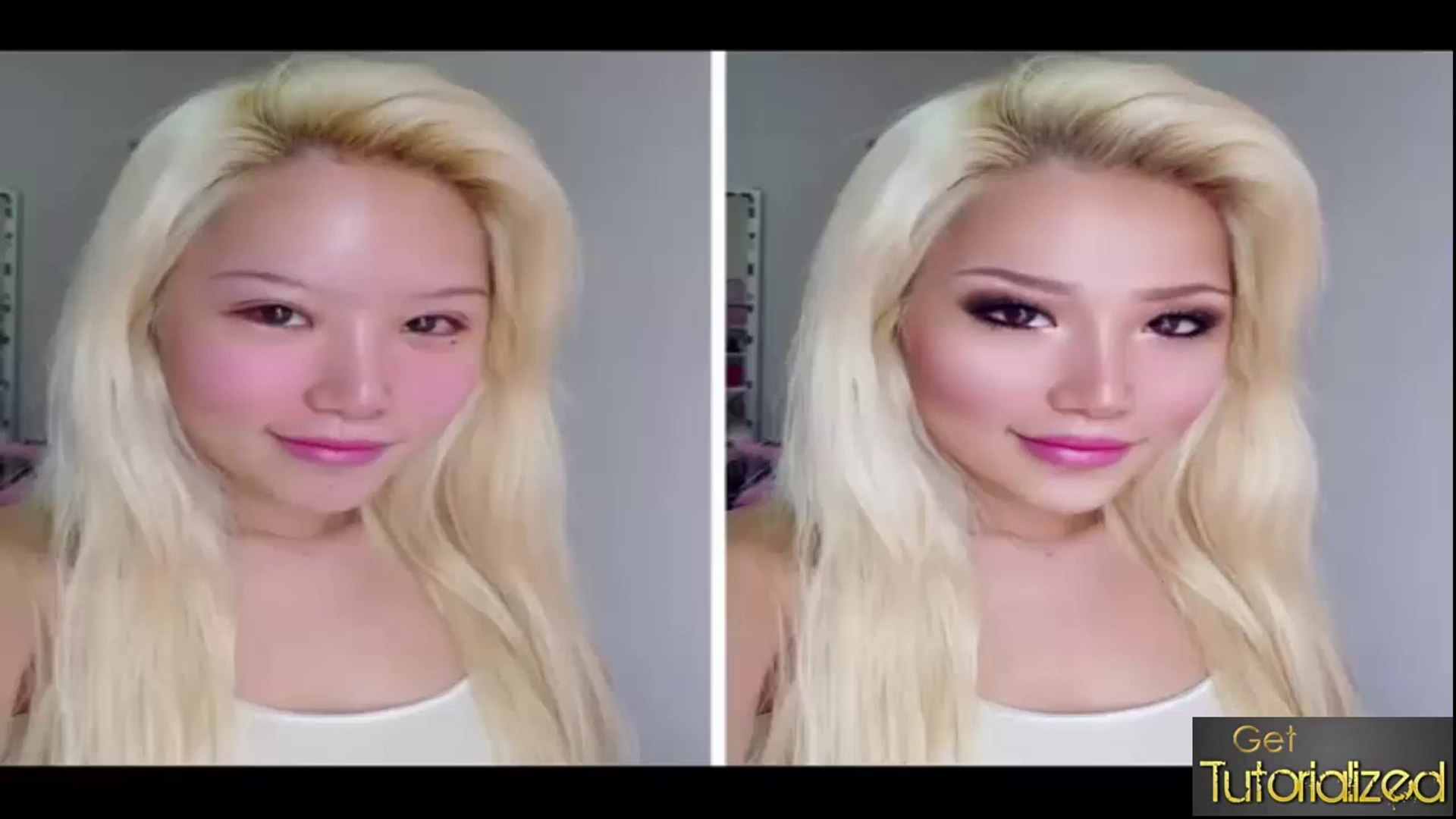 Photoshop Tutorial - PHOTOSHOP TRANSFORMATION- XIAXUE
