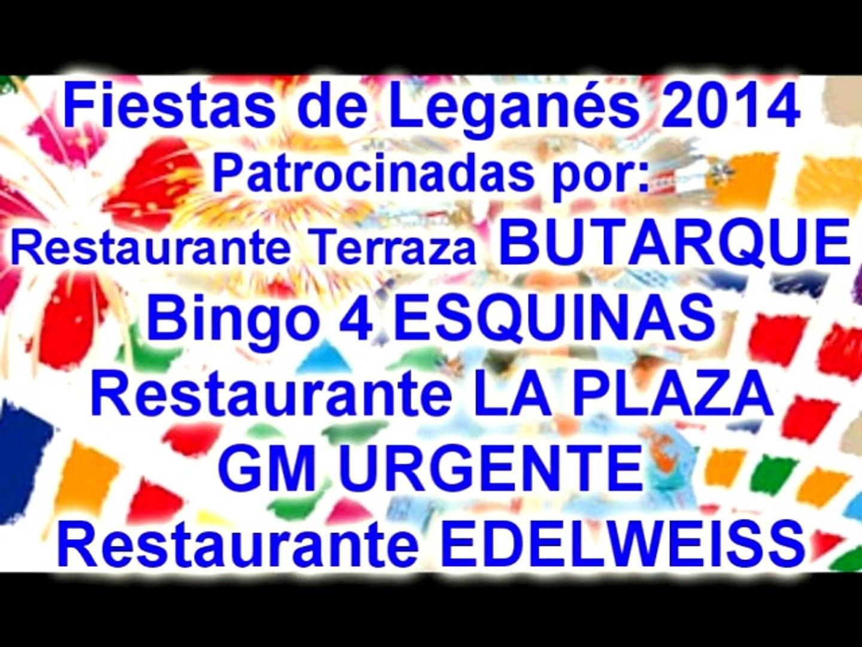 Fiestas De Leganés 2014 Molinete Patrocinadores