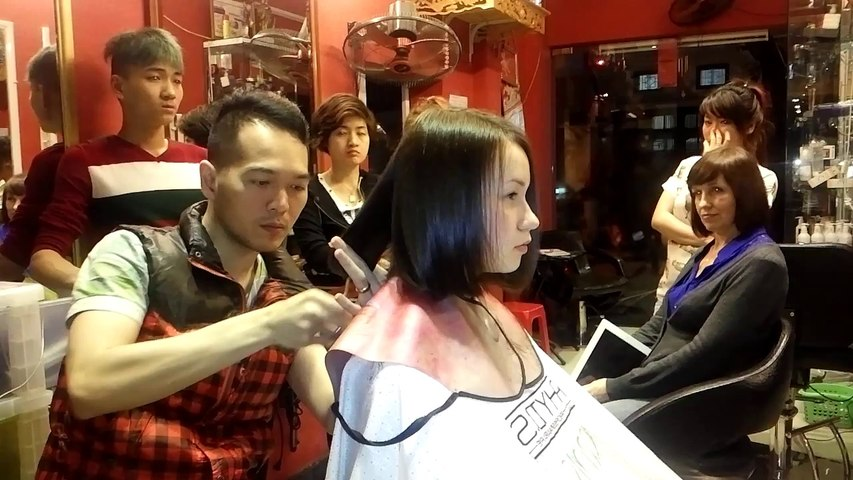 ENGLISH SPEAKING HAIR SERVICES AT HANOI / SALON KORIGAMI 0915804875