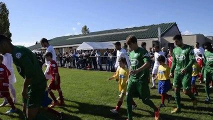 Coupe de France 2014, 5ème tour, entrée des joueurs contre YZEURE (CFA)