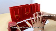 Cartier Love Ring-Cartier Love Ring Yellow Gold Pink Gold White Gold  3 Colors
