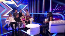 Blonde Electra and Overload Generation's exit chat _ The Xtra Factor UK 2014