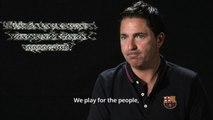 Pre-season interviews: Coach Xavi Pascual, FC Barcelona