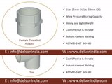 UPVC Pipe Fittings, UPVC Pipe Fittings Manufacturer, Supplier in Ahmedabad, Gujarat, India, Brass Male Threaded Adaptor, Female Threaded Adaptor, Tee, Brass Female Threaded Adaptor Elbow 90°, End Cap, Coupler, Brass Elbow, Brass Tee etc.