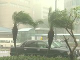 Le typhon Vongfong frappe le Japon de plein fouet
