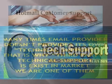 Hotmail Tech Support Telephone Number