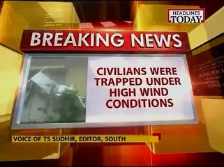 80 people rescued at Pundimakada in Visakhapatnam