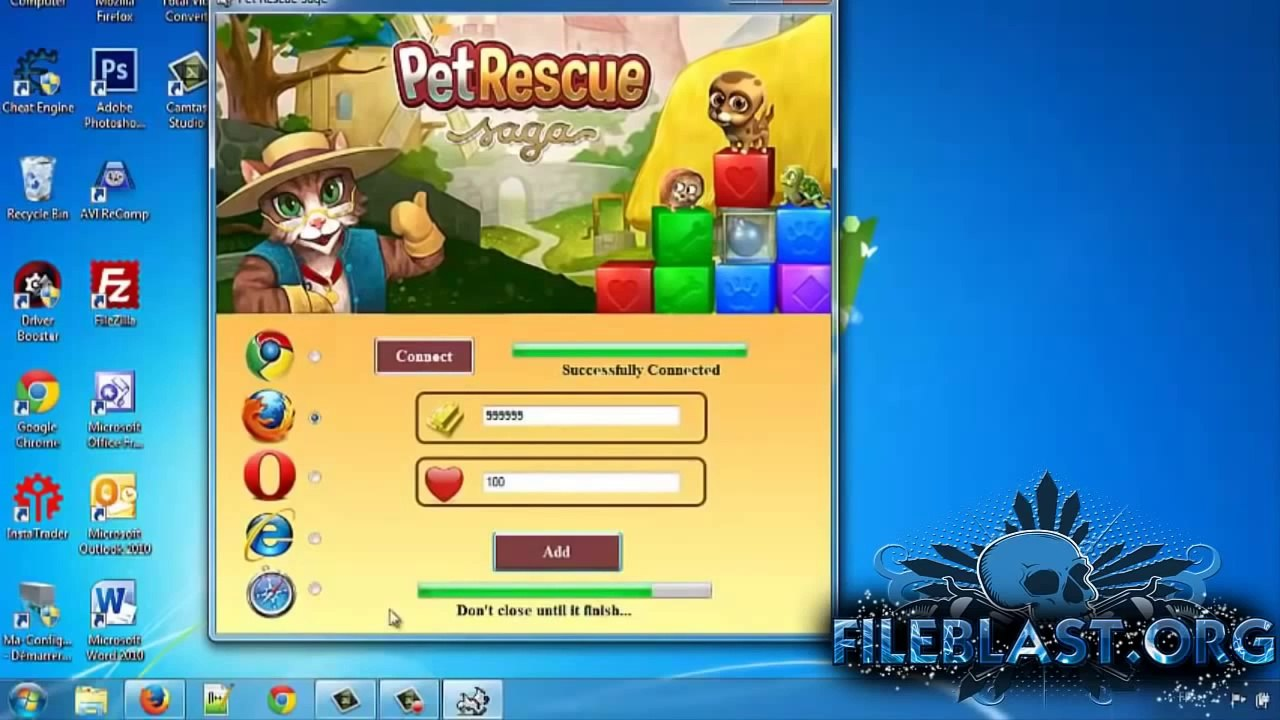 Pet Rescue Saga Hack Cheat Unlimited Gold _ Coins - Working 100%