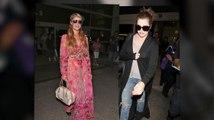 Khloé Kardashian, Paris Hilton and Lionel Richie Catch the Same Flight