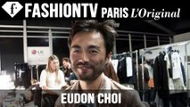 Eudon Choi Hair & Makeup | London Fashion Week Spring/Summer 2015 | FashionTV