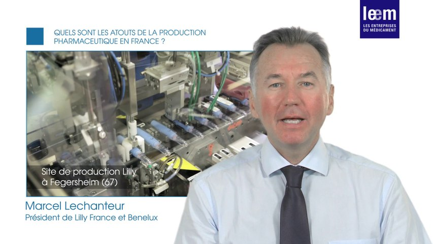 Politique industrielle : Interview de Marcel Lechanteur