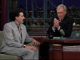 Borat en interview chez David Letterman