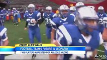 High School Football Players Arrested for Hazing, Sexual Assault.