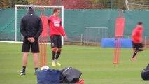 07/10/14 : Séquence d'entraînement du Stade Rennais