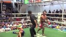 Muay thai : KO en un coup de pied au visage