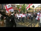 Birmingham: Hundreds at two rival - EDL and UAF protests in the city
