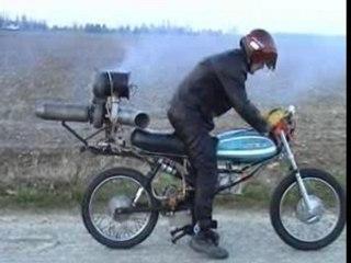 Jetbike turboréacteur 125LT Motobecane
