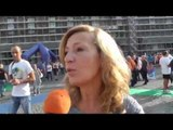 Napoli - Prevention Race, madrina la mamma di Ciro Esposito (13.10.14)