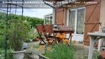 A vendre - maison - AMBERIEU EN BUGEY (01500) - 6 pièces - 112m²