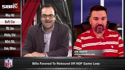 NFL Preseason Betting Week 1: Buffalo Bills vs Carolina Panthers w/ Joe Duffy, Loshak
