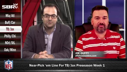 NFL Preseason Betting Week 1: Tampa Bay Buccaneers vs Jacksonville Jaguars w/ Joe Duffy, Loshak