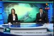 Murió el candidato presidencial brasileño (PSB) Eduardo Campos