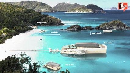 The Multi-Million Dollar Sexy 77m X R-EVOLUTION Concept Yacht