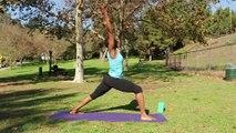 Yoga Poses for the Spine _ Yoga Poses for the Spine_ Warrior 1 Pose