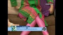 Pakistani Most Beautiful Model Zeba Ali Wearing Pink Looking HOT (HD)