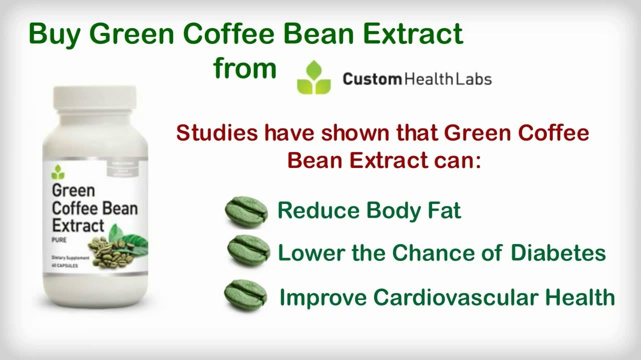 Buy Green Coffee Extract – Custom Health Labs