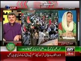 Imran Khan's container is not bullet proof , it is simple container , DPO Lahore has confirmed it - Mubashir Luqman & Sadaf