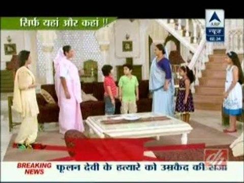 Saath Nibhana Sathiya 19 July 2015 Meera amp Gopi Stuck In