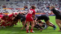 [HIGHLIGHTS] New Zealand and USA win in fifth place semis | Women's Rugby World Cup