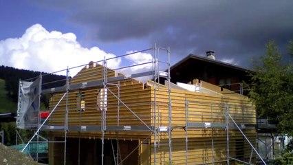 SEVESSAND Constructions Bois - Les SAISIES (73) - Août 2014