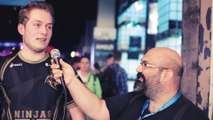 Cabochard, top des NiP, au micro de Millenium à la Gamescom 2014