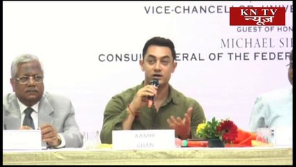 Aamir Khan launched the book 'My Marathi