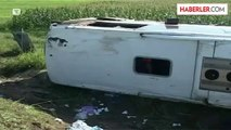 Sırbistan'da Türk Plakalı Otobüs Devrildi: 1 Ölü, 30 Yaralı
