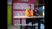 Rudi Garcia in conferenza stampa a Bad Waltersdorf