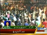 Azadi March: Clash between PTI and PMLN workers before reaching Islamabad