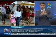 Nicolás Maduro entregó viviendas; suman más de 600 mil