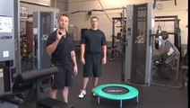Mini Trampoline Exercise _ How to Use a Mini Trampoline for Exercise