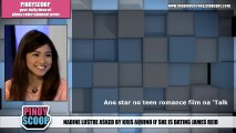Nadine Lustre Asked By Kris Aquino If She Is Dating James Reid On 'Aquino And Abunda Tonight'