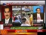 Fight between Khwaja Saad Raffique & Shah Mehmood Qureshi over Gujranwala Incident