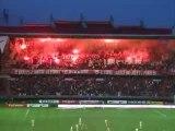 PSG - Monaco : Tifo Fumi Lutèce Falco