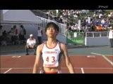 2010国体陸上 少年女子B100m決勝