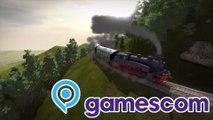 gamescom 2014: Train Fever Pressekonferenz - QSO4YOU Gaming