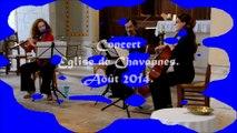 Concert. Chavannes Août 2014
