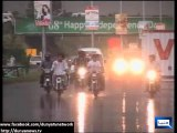 Dunya News - Heavy rains in twin cities favors the citizens while PTI workers rejoice