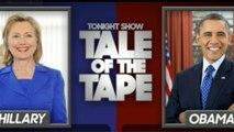 Late-night laughs: Hillary Clinton vs. Barack Obama